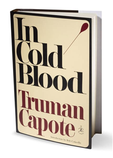 Truman capote in cold blood thesis